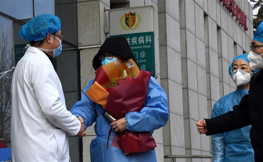 皖鲁渝等地多例新型冠状病毒感染的肺炎患者治愈出院