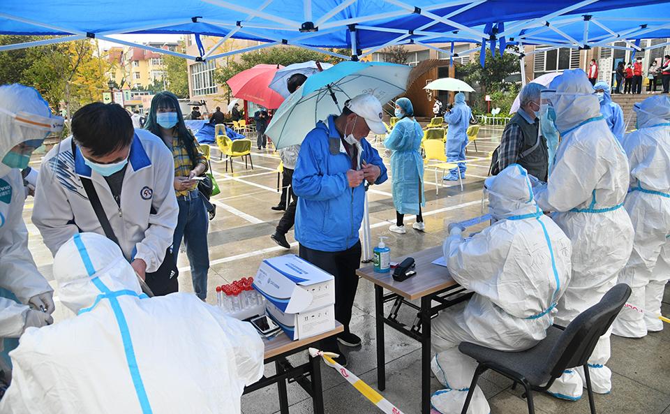 青岛全员核酸检测:已采样超过560万份